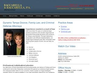 Baccarella & Bacarella Divorce Tampa Lawyer