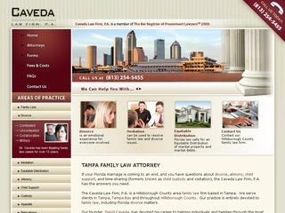 Caveda Law Firm Divorce Tampa Lawyer