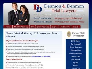Denmon & Denmon DUI Tampa Lawyer