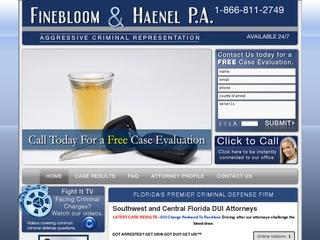 Finebloom & Haenel P.A. DUI Tampa Lawyer