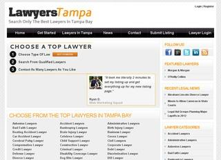 Basic Lawyer Listing